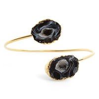 Women's Sole Society Natural Stone Station Cuff