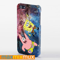 Spongebob And Patrick iPhone 4/4S, 5/5S, 5C Series Full Wrap Case