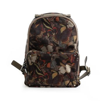 Valentino Butterfly Nylon Backpack