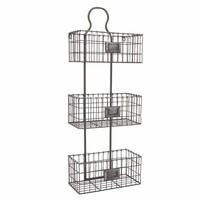 44046 Old Age Storage Rack - Benzara