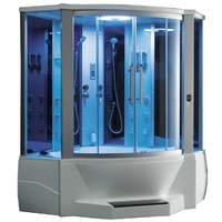 Ariel WS-701 Steam Shower with Whirlpool Bathtub
