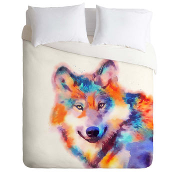 Jacqueline Maldonado The Faithful Duvet Cover