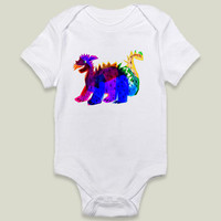 Rainbow Dragon Onesy by yetzenialeiva on BoomBoomPrints