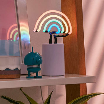 Mini Rainbow Neon Sign Table Lamp | Urban Outfitters
