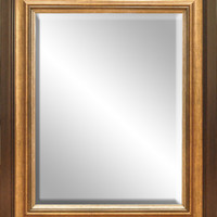 Hanging Wall Mirror with Wood Frame 22 in. x 28 in.