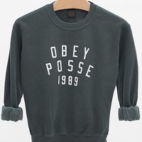 OBEY Phys Ed Throwback Sweatshirt