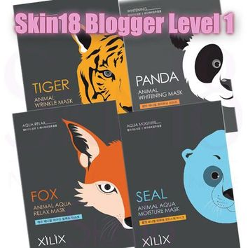 Blogger's Pack (Level 1) Xilix Animal Mask Sheet x 1pcs
