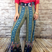 Pretty in Spring Palazzo Pants