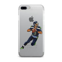 SEAHAWKS RUSSELL WILSON CUSTOM IPHONE CASE
