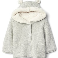 Cozy bear garter sweater | Gap