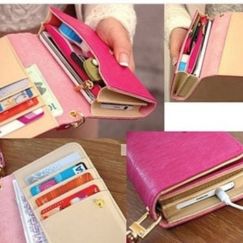 Envelope Card Wallet Leather Purse Case for iphone 6 5 5s 5c 4 4s Cover Bag For Samsung Galaxy S2 S3 S4 i9500 for Iphone4g = 5617002049