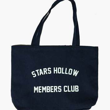 Gilmore Girls Stars Hollow Members Club Big Tote Bag