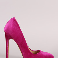 Liliana Velvet Pointy Toe Stiletto Pump