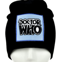Doctor Who Beanie Alternative Clothing Knit Cap