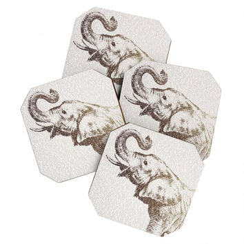 Belle13 The Wisest Elephant Coaster Set