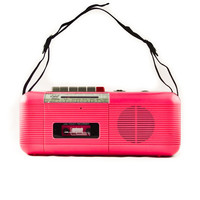 Vintage Boom Box 1980's Tape Player by goodmerchants on Etsy