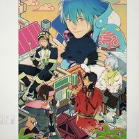 DRAMAtical Murder DMMD NOIZ Seragaki Aoba Virus Home Decor Poster Wall Scroll Anime Janpanese New 23.6x34.5 Inches -P137032001