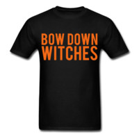 Bow Down Witches, Halloween, Unisex T-Shirt