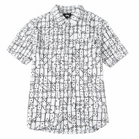 Stussy: Dominos Shirt - White
