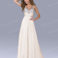 STOCK New Long Formal Prom Bridesmaid Dresses Evening Party Ball Dress Size 6-18