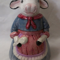 Cow Cookie Jar  (410)