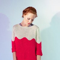 DUSEN DUSEN — Rose Wave Sweater