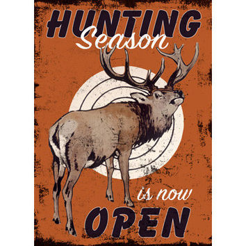 Personalized Hunting Season Wood Sign