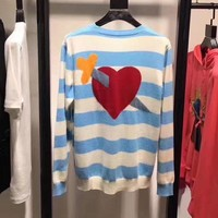 DCC3W GUCCI Woman Men Fashion Knit Top Sweater Pullover