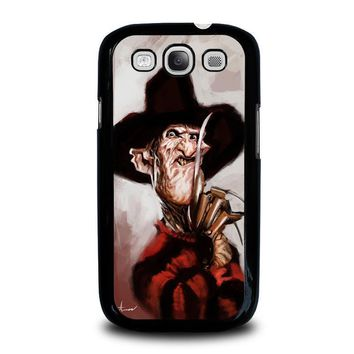 freddy krueger 3 samsung galaxy s3 case cover  number 2