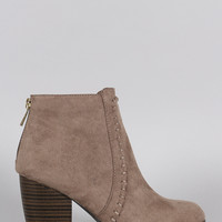 Qupid Western Flair Bootie