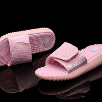 """Adidas"" Women Yeezy Boost Pink Sandals"