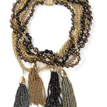 Rosantica bead and chain necklace