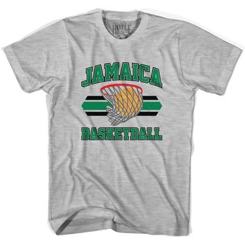 Jamaica 90's Basketball T-shirts-Adult