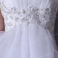 Short Teens Mini Formal Evening Gown Ball Prom Wedding Cocktail Party Grad Dress