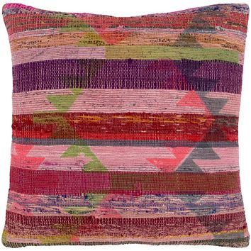 Thames Pillow Kit - Pale Pink, Dark Red, Violet, Lime, Bright Pink, Medium Gray, Denim, Burgundy, Dark Green, Bright Red, Rose, Saffron, Dark Blue - Poly - TAE001