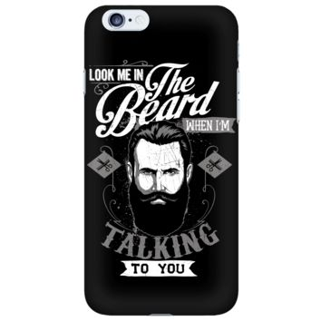 LOVE GROWING A BEARD Black iPhone 6 & iPhone 6S