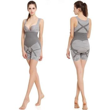 1pc Bodysuit Women Charcoal Sculpting Underwearbamboo Slimming Suits Shapewear Waist Trainer Corsets Waist Cincherhot Shapers