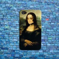 Funny Michael Jackson Phone Case Cute Mona Lisa Case iPhone iPod Cover Cool Fun
