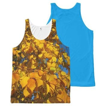 Leaves Tank Top