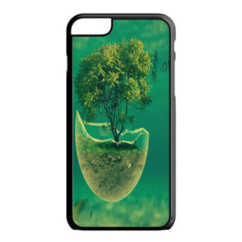 Tree in The Sea Abstract iPhone 6S Plus Case