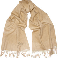 Burberry London - Brushed-cashmere scarf