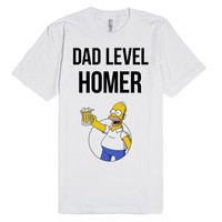 Dad Level: Homer