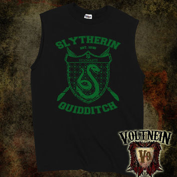 Slytherin Quidditch Muscle Shirt