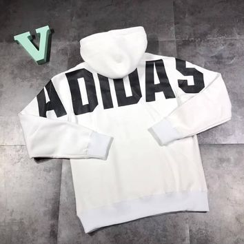 ADIDAS Woman Men Casual Top Sweater Pullover Hoodie
