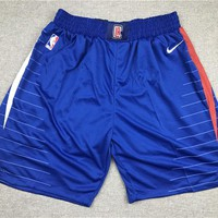 Los Angeles Clippers Basketball Royal Sport Short - Best Deal Online