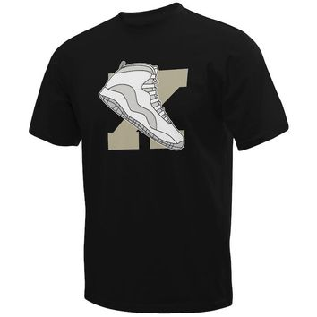 Jordan 10 Ovo Custom T-Shirt