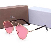 GUCCI Trending Women Men Chic Summer Style Sun Shades Eyeglasses Glasses Sunglasses Pink I-HWYMSH-YJ
