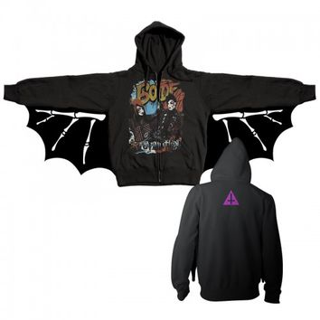 Blood on the Dance Floor Official Store | Custom Evolution Bat Zip Up Hoodie