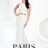 Paris by Mon Cheri 116703 Lace Prom or Wedding Bridal Dress