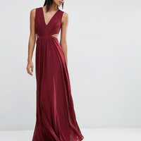 ASOS | ASOS Side Cut Out Maxi Dress at ASOS